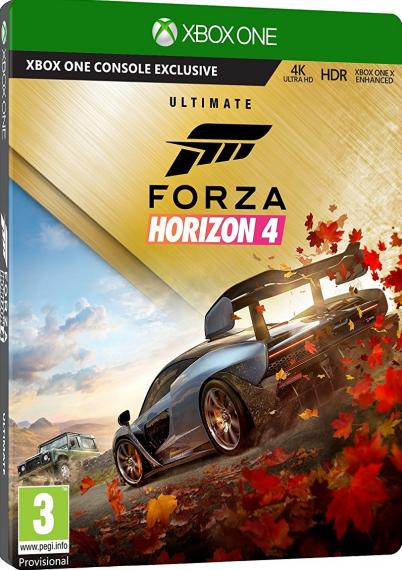 Forza Horizon 4 PL Ultimate Edition XBOX ONE