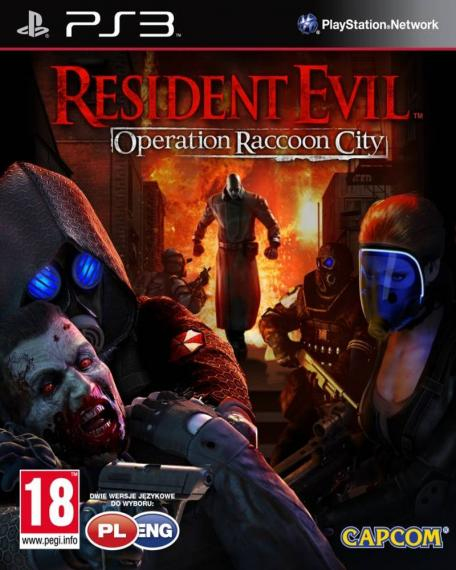 Resident Evil Operation Raccoon City PL PS3