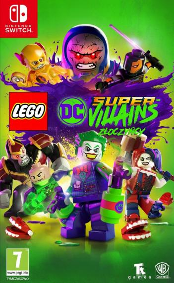 LEGO DC Super Villains Złoczyńcy PL SWITCH