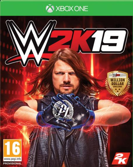 WWE 2K19 XBOX ONE + DLC
