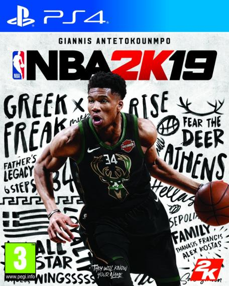 NBA 2K19 PS4 + Bonus