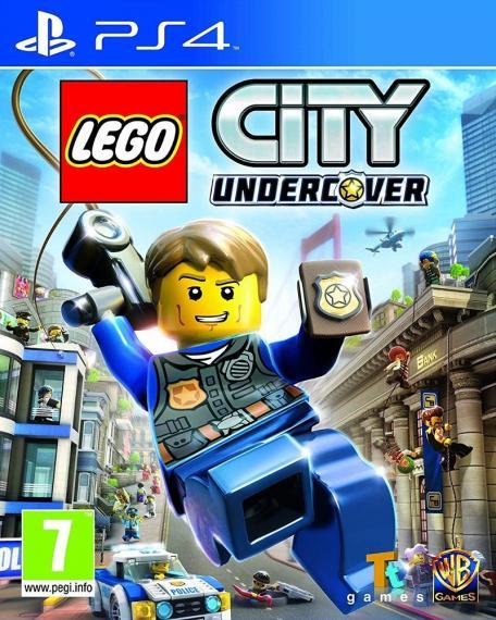 Lego City Tajny Agent Undercover PL PS4