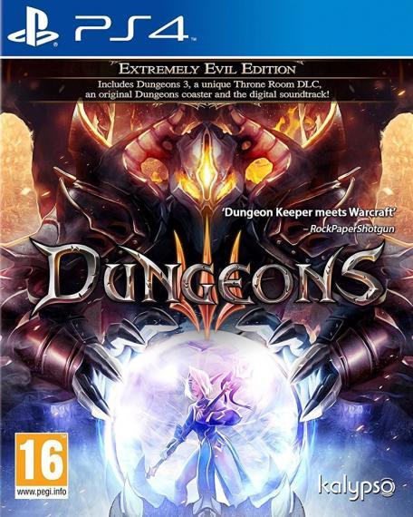 Dungeons III 3 PS4