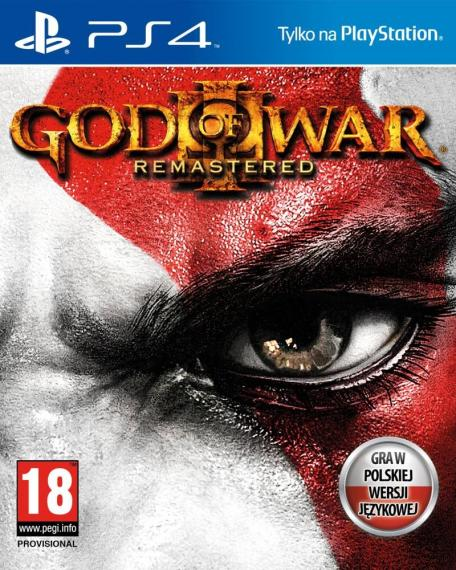 God Of War 3 Remastered PL PS4
