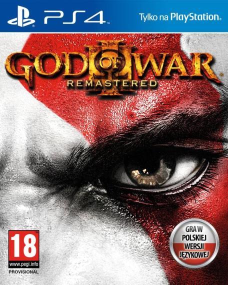 God Of War 3 Remastered PL PS4