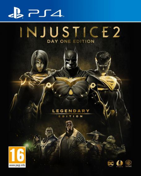 Injustice 2 Legendary Edition GOTY Steelbook PL PS4