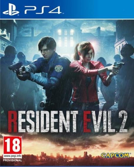 Resident Evil 2 Remake PL PS4