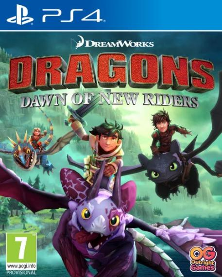 Dragons Dawn of New Riders PS4
