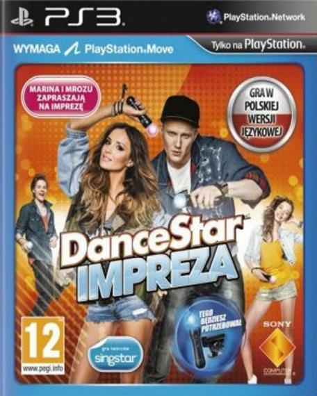 DanceStar Impreza PL PS3
