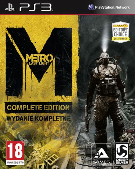 Metro Last Light Complete Edition PL PS3