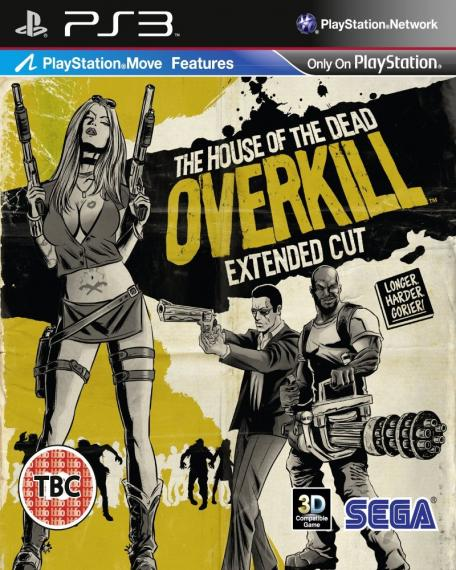 The House Of The Dead Overkill Extended Cut PS3