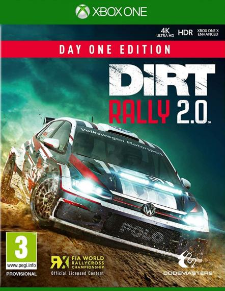 Dirt Rally 2.0 PL XBOX ONE