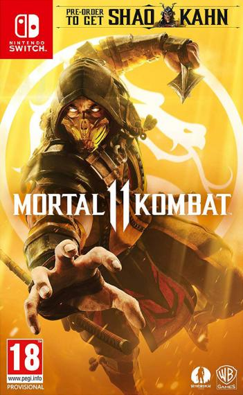 Mortal Kombat 11 PL SWITCH