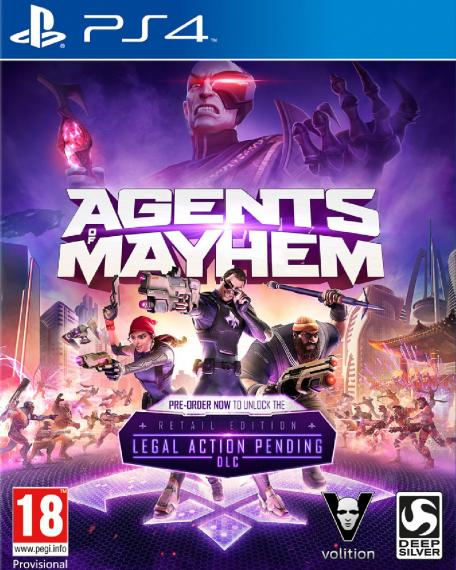 Agents of Mayhem Day One PL PS4