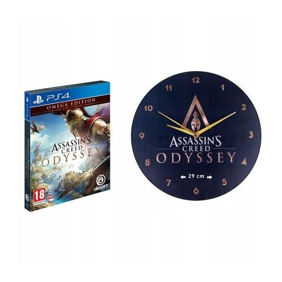 Assassin's Creed Odyssey + Zegar PL PS4
