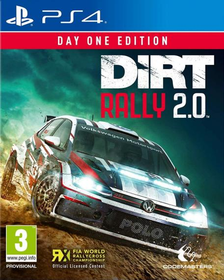 Dirt Rally 2.0 PL Day One PS4