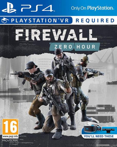 Firewall Zero Hour VR PL PS4