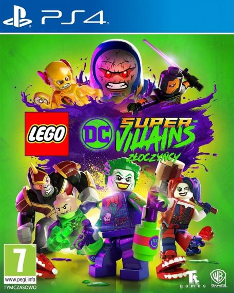 LEGO DC Super-Villains Złoczyńcy PL PS4