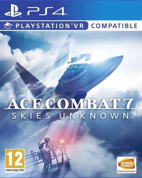 Ace Combat 7 Skies Unknown PS4 PL VR