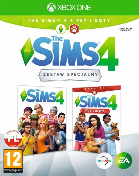 The Sims 4 z dodatkiem Psy i Koty PL XBOX ONE