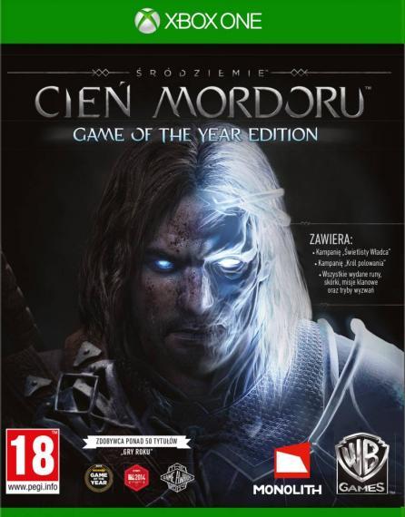 Śródziemie Cień Mordoru Game Of The Year Edition PL XBOX ONE