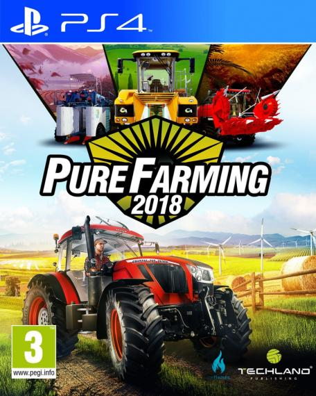 Pure Farming 2018 PL PS4