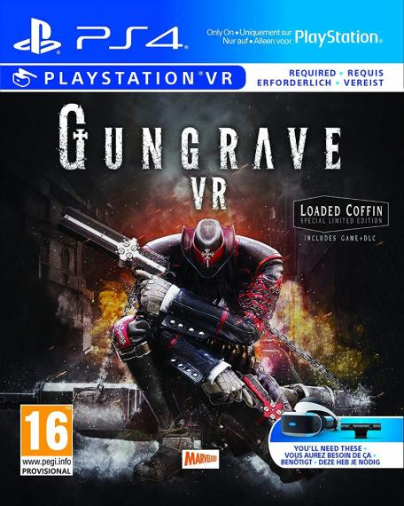 Gungrave VR Loaded Coffin Edition PS4