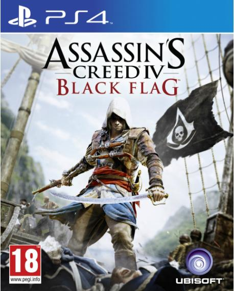Assassin's Creed Black Flag PL PS4