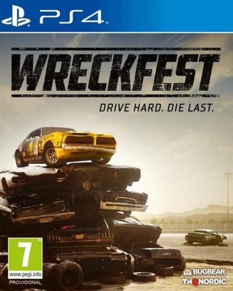 Wreckfest PL PS4