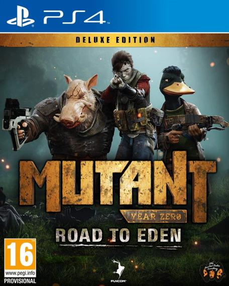 Mutant Year Zero - Road to Eden Deluxe Edition PL PS4
