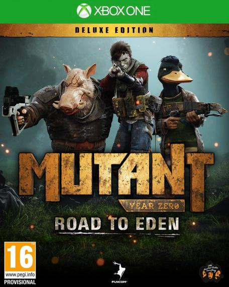 Mutant Year Zero - Road to Eden Deluxe Edition PL XBOX ONE