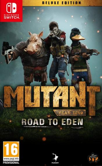 Mutant Year Zero - Road to Eden Deluxe Edition PL SWITCH