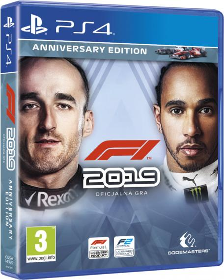 F1 2019 Anniversary Edition PL PS4