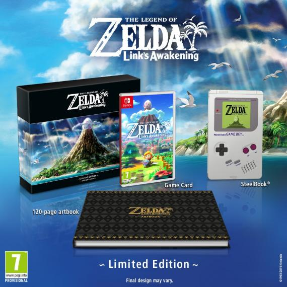 The Legend of Zelda: Link's Awakening Limited Edition SWITCH