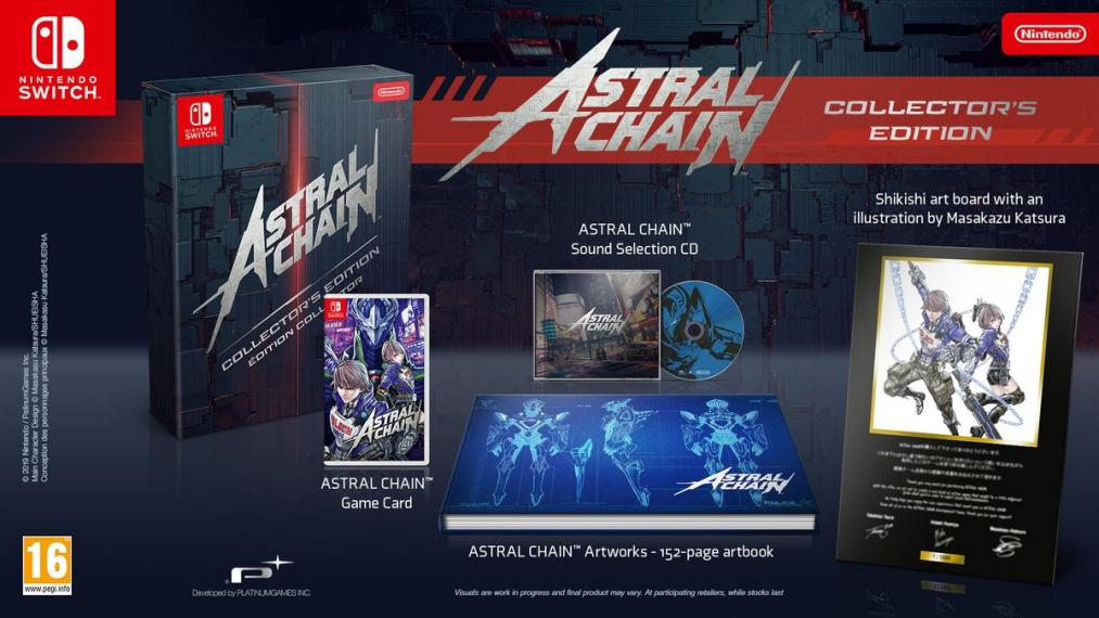Astral Chain Collectors Edition SWITCH