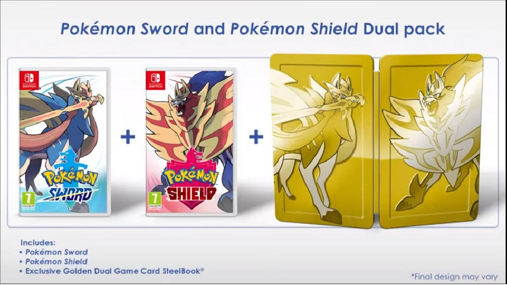 Pokémon Sword & Shield Dual Pack SWITCH