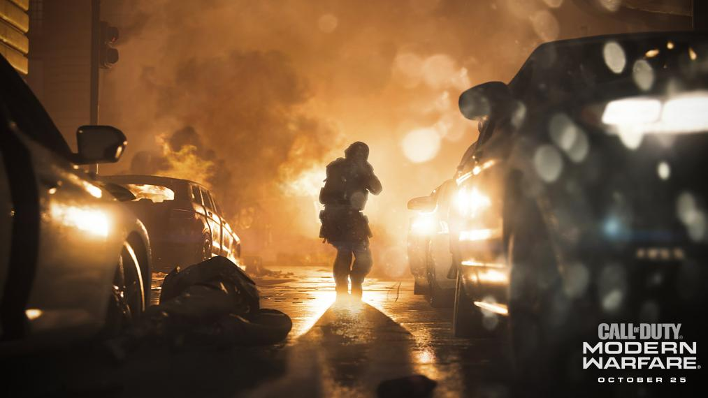 Call of Duty Modern Warfare Ang. XBOX ONE