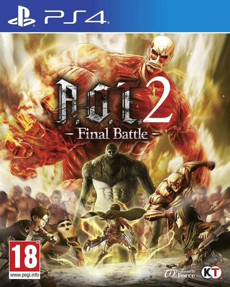A.O.T. 2 Attack on Titan 2 Final Battle PS4