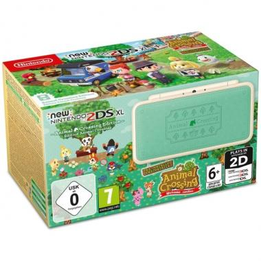 New 2DS XL Animal Crossing Edition + Gra Animal Crossing