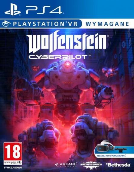 Wolfenstein Cyberpilot PL PS4 VR