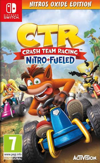 Crash Team Racing Nitro Fueled Nitros Oxide Edition + DLC SWITCH