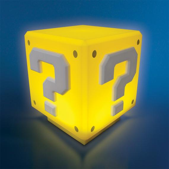 Super Mario Mini Lampka Question Block