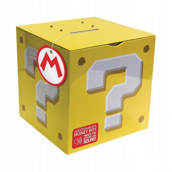 Super Mario Question Block Skarbonka