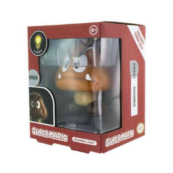 Super Mario Goomba Lampa 3D