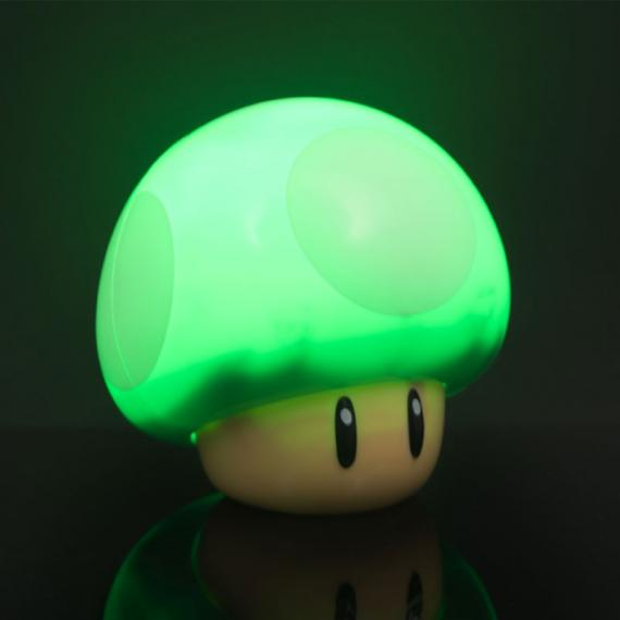 Super Mario 1 Up Mushroom Lampa