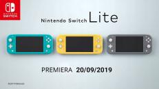 Konsola Nintendo Switch Lite Yellow / Szara
