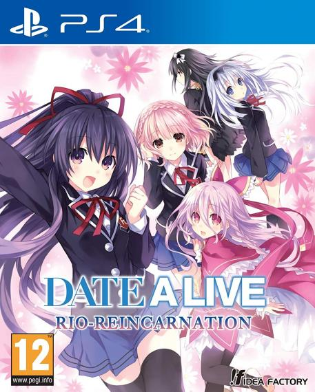 DATE A LIVE Rio Reincarnation PS4