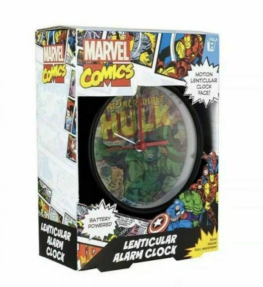 Marvel Comics Budzik soczewkowy