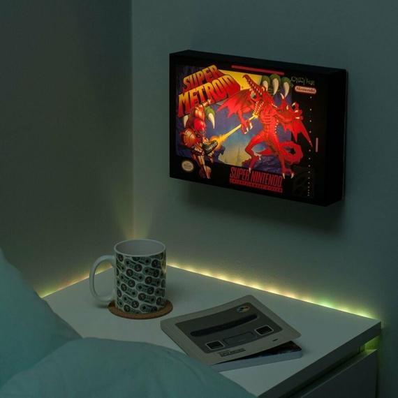 Super Metroid Luminart Podświetlany obraz