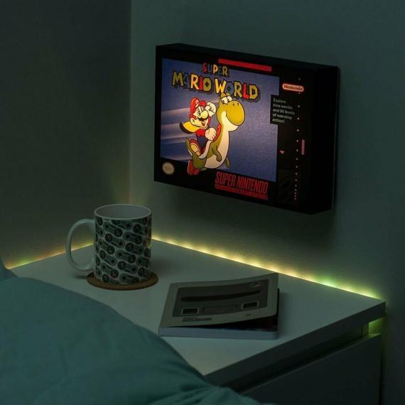Super Mario World Luminart Podświetlany obraz